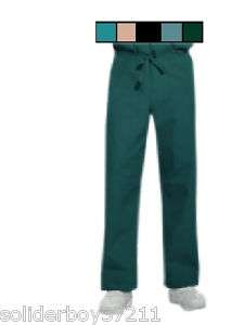 Unisex Nurse Medical Dental Scrubs Scrub Bottoms Pants