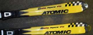 Atomic 812 Skis race beta 150cm with salomon Bindings SET