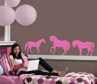 Large Horse childs Vinyl Wall Mural Art Sticker/Decal