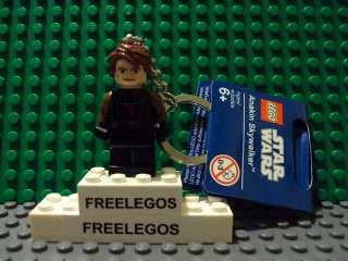 LEGO STAR WARS anakin skywalker minifigure keychain   BRAND NEW with