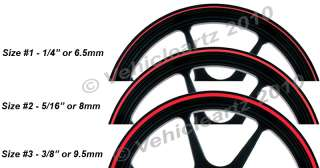 PURPLE 20 23 inch Rim Tape Stripes fit Cars, Trucks available in 3