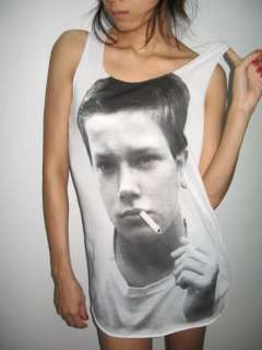 River Phoenix Stand by Me Rock Movie Tank Top T Shirt M