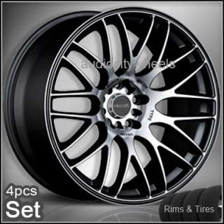 17 Wheels &Tires Tenzo Type M Rims Lexus,Audi,Scion