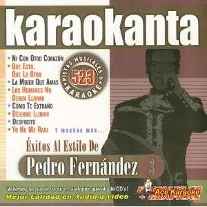 KAR 4523   Pedro Fernandez Vol. 3   Spanish CDG