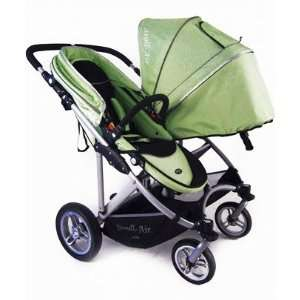 Stroll Air My DUO Twin Baby Stroller WITH Bassinet  Green: Baby